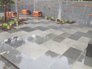 Full paving installation