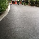 After photo of driveway in exposed concrete 2