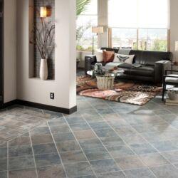 Tiled internal floor