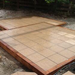 Box in box paving design