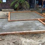 Compacted base course for pavers
